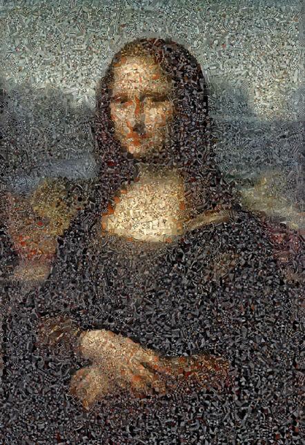 Andrea Morucchio, 'Mona Lisa', 2018