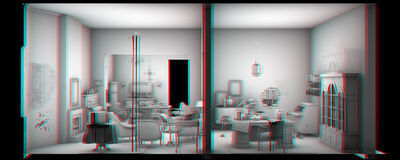 Maya Zack, 'Living Room', 2009-2010