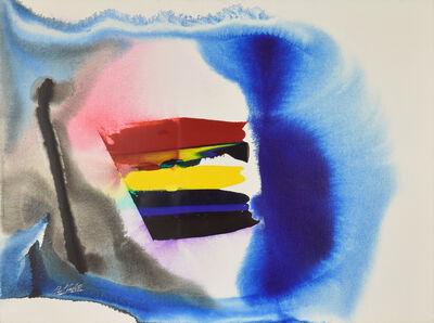 Paul Jenkins, 'Phenomena White of the Tiger', 1987