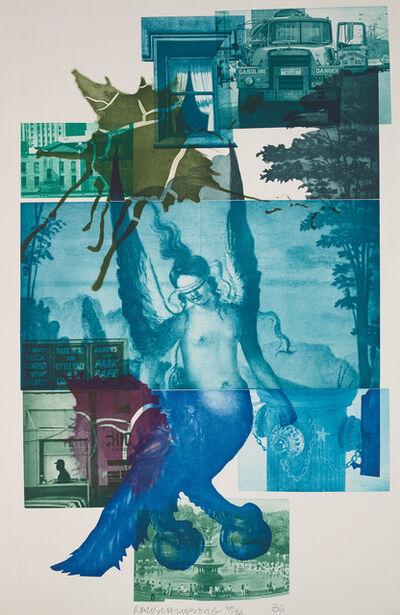 Robert Rauschenberg, 'Bellini #1', 1986