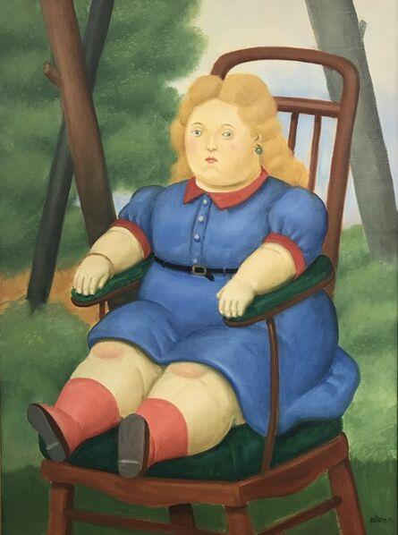 Fernando Botero, 'Nina en la silla ', 2012