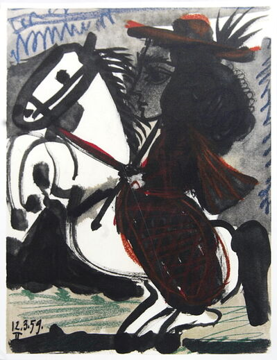 Pablo Picasso, 'Cavalier', 1959