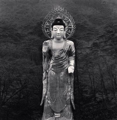 Michael Kenna, 'Golden Maitreya Buddha, Beopjusa Temple, Boeun, Chungcheongbuk-do, South Korea.', 2007