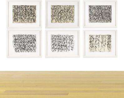 Brice Marden, 'Cold Mountain Series, Zen Study 1-6', 1991