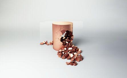 Janne Kyttanen, 'Stool (Rose Gold) | Bullet Pouf ', 2015