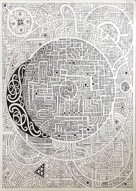 Liam Te Nahu, 'Small Maze', 2014
