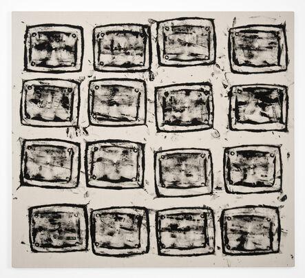 Gerald Ferguson, '16 Ashcans', 2006
