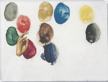 Perejaume, '10 pigments', 2001