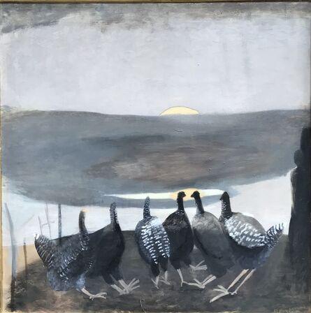 Mary Newcomb, 'The Bulging Sun', 1980