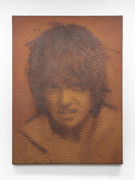 "Tomohiro Kato, 'iron-oxide painting ""J.H./D****38""', 2020"