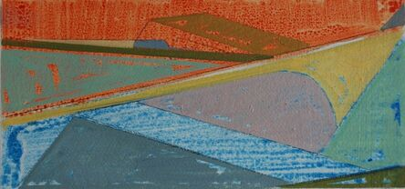 Phoebe Peterson, 'Boat Color Study 1, Persimmon Mint', 2021