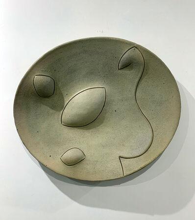 Chris Gustin, 'Stoneware Platter', Circa 1987