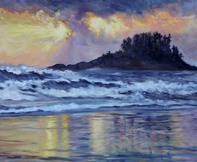 Terrill Welch, 'Chesterman Beach Sunset', 2016