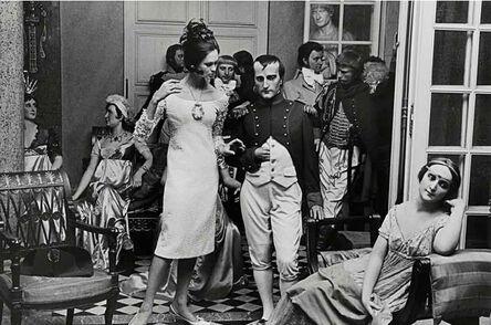 William Klein, 'Isabella + Napoléon, musée Grévin, Paris (Vogue)', 1963
