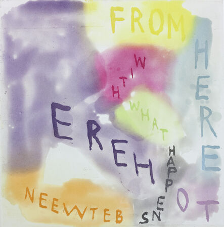 Chris Johanson, 'FROM HERE TO HERE WITH WHAT HAPPENS BETWEEN', 2014