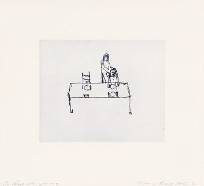 """Tracey Emin, '""""YOU FORGOT WHO YOU ARE""""', 2013"""