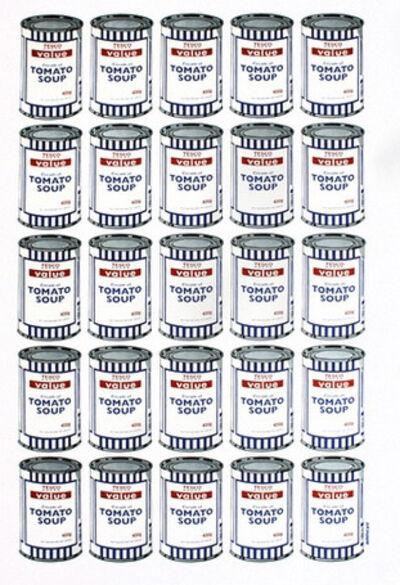 Banksy, 'TESCO VALUE TOMATO SOUP CANS', 2006