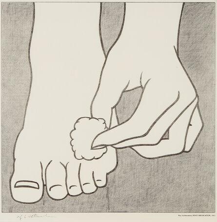 Roy Lichtenstein, 'Foot Medication Poster', 1963