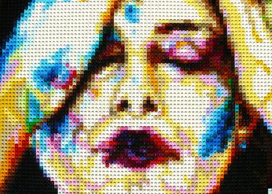 Pauline Aubey, 'Plastered: Rainbow (A Self Portrait)', 2020
