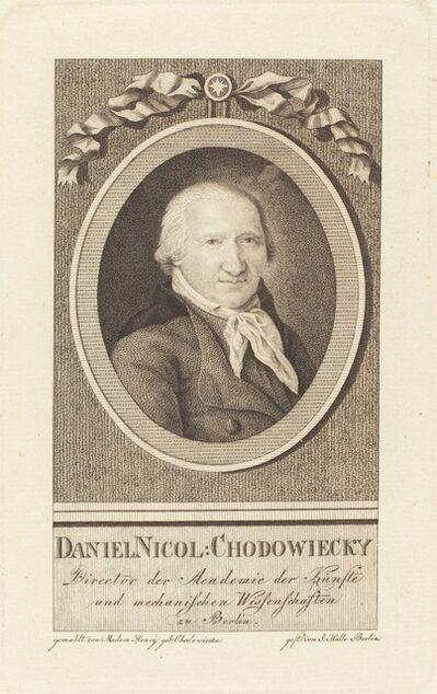 J.S.L. Halle, 'Daniel Chodowiecki', 1801
