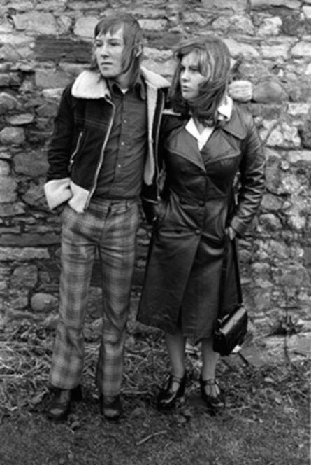 Homer Sykes, 'Margaret and Barry Kirkbride, Workington, Cumbria', 1975