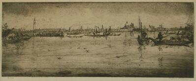 Clifford Isaac Addams, 'Venice, Harbor Scene'