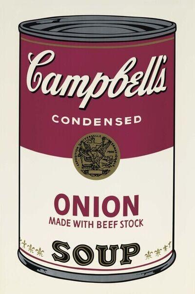 Andy Warhol, 'Campbell's Soup I: Onion (FS II.47)', 1968