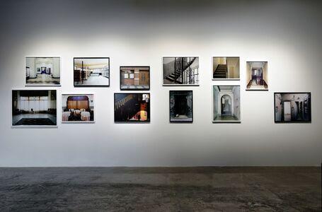 "Bouchra Khalili, 'Installation view of ""Foreign Office""', 2015"