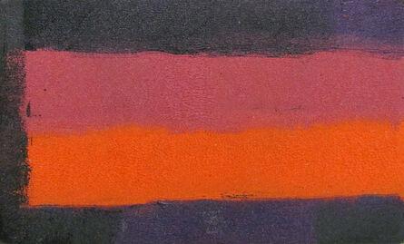McKie Trotter, 'Untitled (Purple, Pink, Orange)', 1959