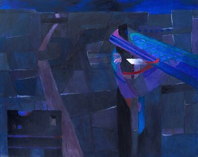 Fernando de Szyszlo, 'Paracas la noche', 2011