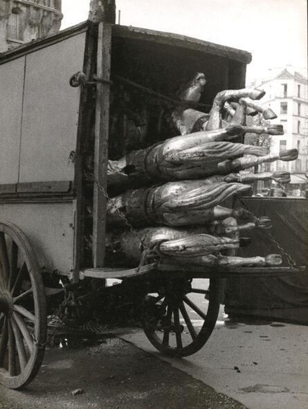 André Kertész, 'Carousel Horses, Paris', 1930s/1930s