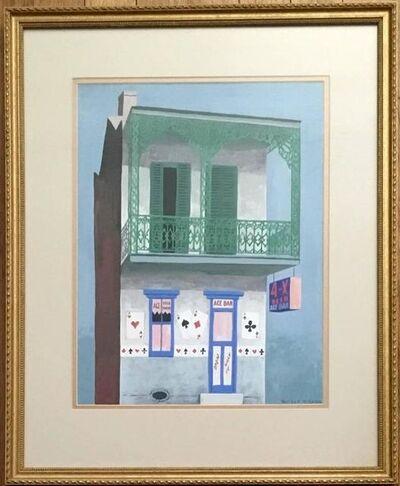 Witold Gordon, 'Ace Bar, Gouache American Scene. Witold Gordon', 20th Century