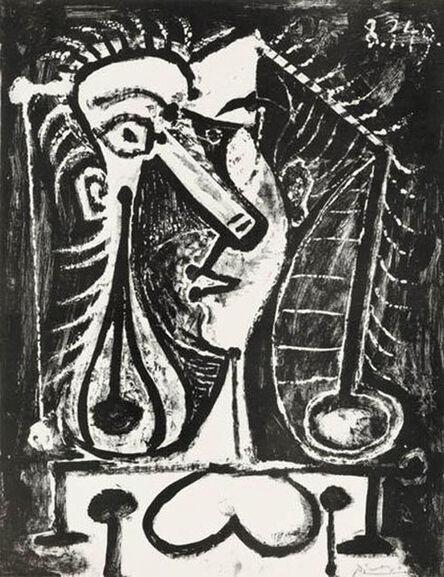 Pablo Picasso, 'Figure composée (Composed figure) March 8, 1949', 1949