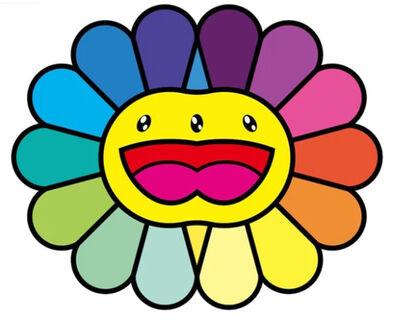Takashi Murakami, 'Multicolor Double Face: Yellow', 2020