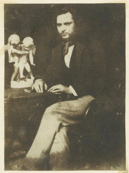 Hill & Adamson, 'Portrait of Robert Adamson (attributed).', ca. 1845