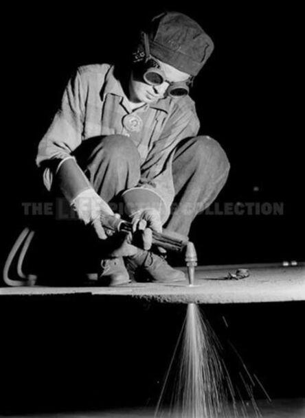 Margaret Bourke-White, 'Female Welder', 1942