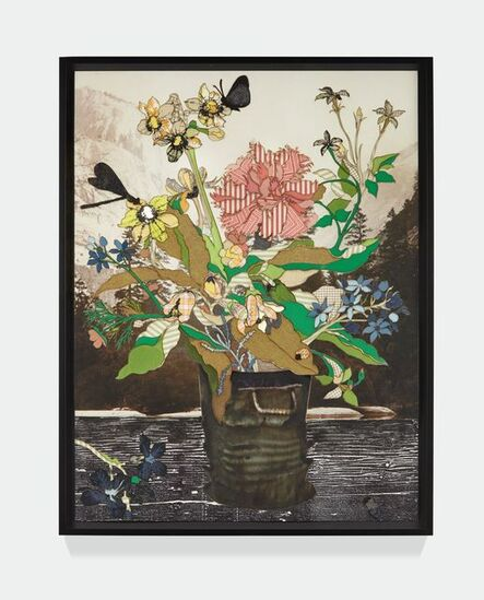 Matthew Day Jackson, 'Bouquet in a Glass Vase (Amsterdam)', 2018