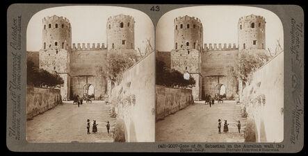 Bert Underwood, 'Gate of San Sebastian in the Aurelian wall, Rome', 1900