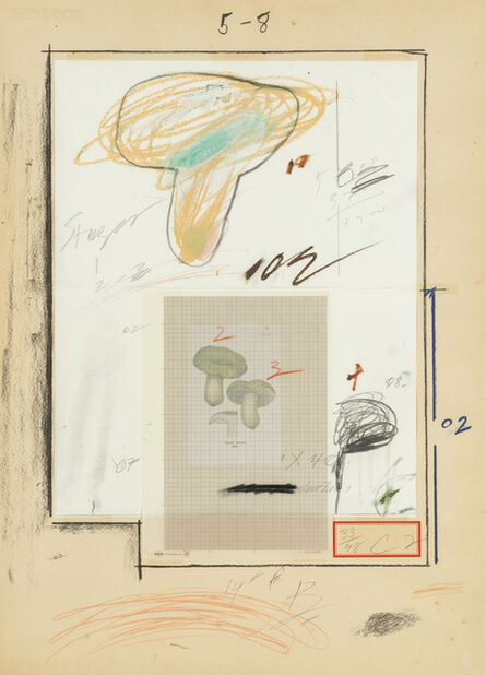 Cy Twombly, 'Natural History Part I No. III', 1974