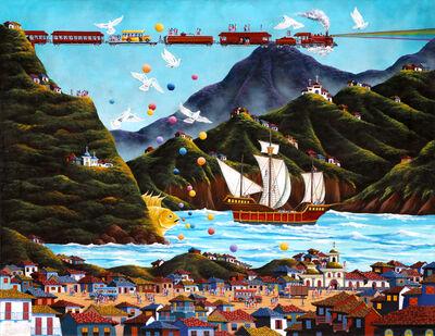 Gonzalo Endara Crow, 'The Sailing Ship', 1982