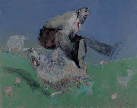 François Anton, 'Crazy Sheep', 2014