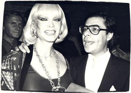 Andy Warhol, 'Andy Warhol, Photograph of Bob Colacello and a Woman, 1970s', 1970s