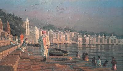 Pip Todd-Warmoth, 'On The Ghats, Varanasi', 2016