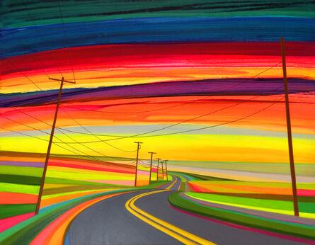 Grant Haffner, 'Sunrise Over Montauk Highway', 2017