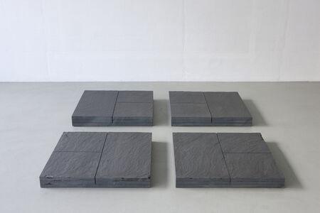 Ulrich Rückriem, 'Ohne Titel (Bodenarbeit)', 1981