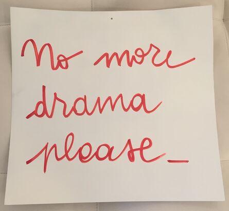Blue and Joy, 'No More Drama', 2015