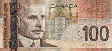 Robert Silvers, 'Canadian 100 Bill', 2005