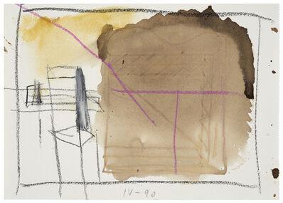 Karl Bohrmann, 'Landschaft, Interieur mit Stuhl (Landscape, interior with chair)', 1990