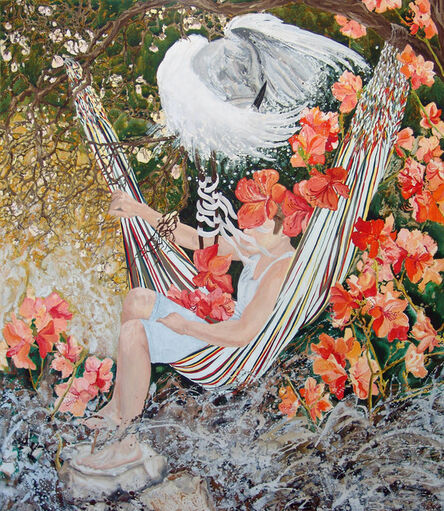 Kerstin Serz, 'Sumpfland', 2017