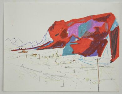 Lisa Sanditz, 'Mountain 1', 2016